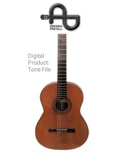 Andrea Pistilli - ARIA  (Vintage 1971 - For Nylon Strings Source Guitar) - Digital Tone based on