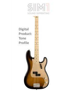 Fender Precision American 50s open tone