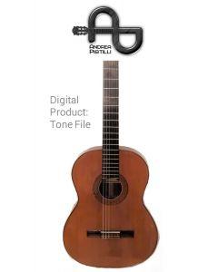 Andrea Pistilli - ARIA  (Vintage 1971 - For Nylon Strings Source Guitar) - Digital Tone based on
