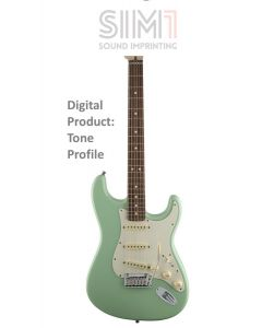 Stratocaster Jeff Beck 5Pos - Digital tone based on