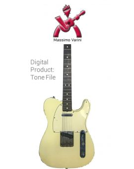 Massimo Varini - Fender Telecaster 1964 - Digital tone based on
