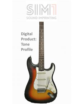 Fender Stratocaster 1965 Sunburst 5Pos - Digital tone based on